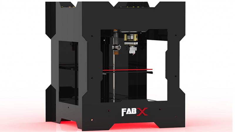 India's 3Ding Unveils FabX 2.0 3D Printer for Under $475