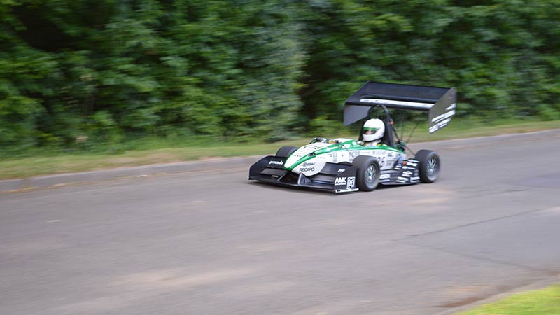 Industrial 3D printing yields success on the Formula Student circuits
