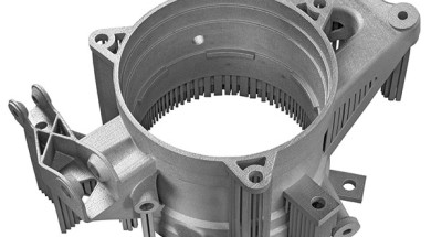 Renishaw's additive manufacturing technology allows more complex component geometries in metal.