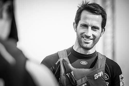 Land Rover BAR Team Principal and Skipper, Ben Ainslie – 30 Aug 2015 (Credit: Lloyd Images/Land Rover BAR)